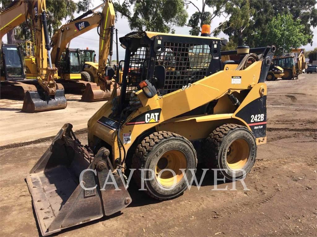 Caterpillar 242B, Skid Steer Loaders, Construction