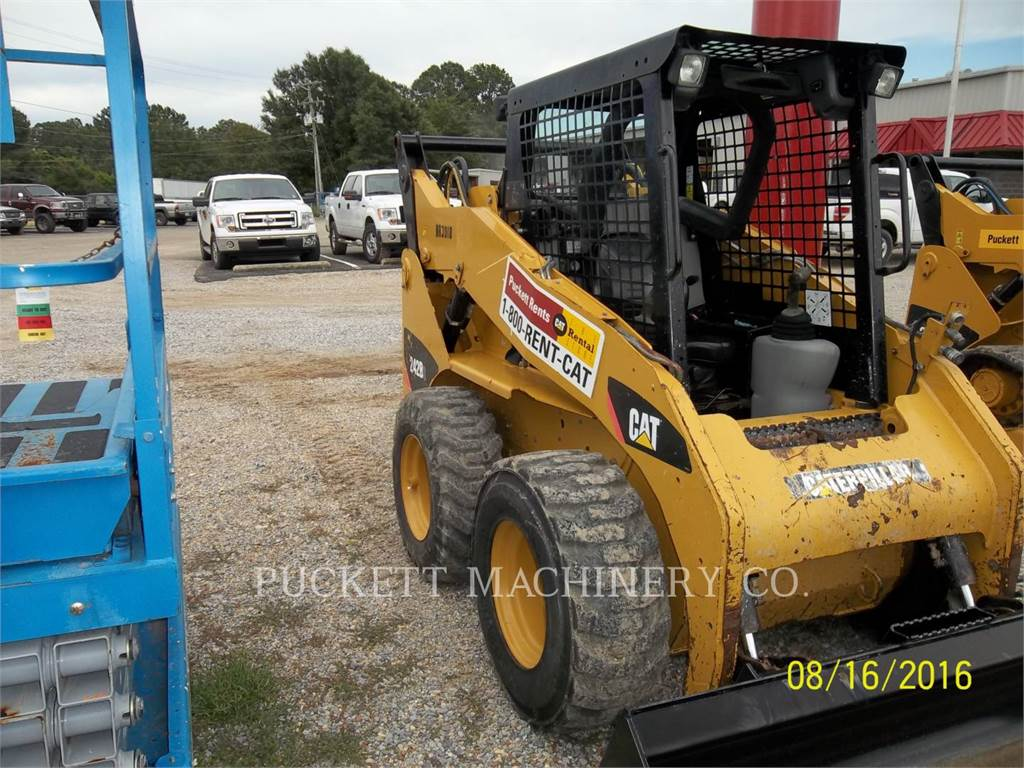 Caterpillar 242B3, Skid Steer Loaders, Construction