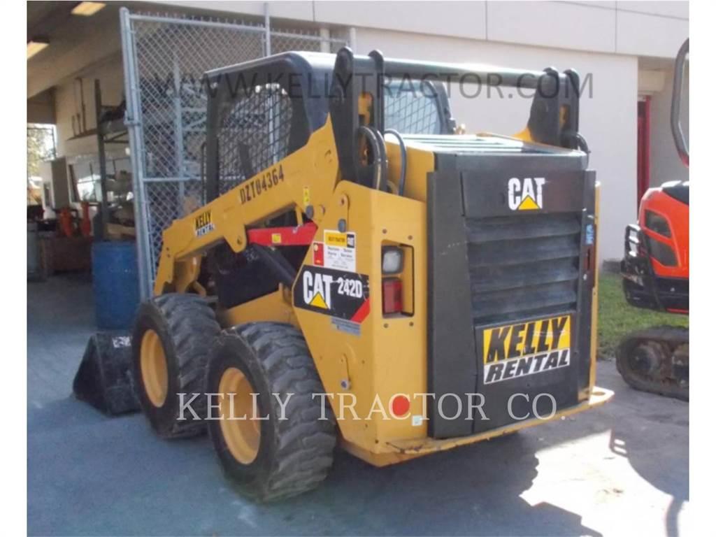 Caterpillar 242D, Carregadoras de direcção deslizante, Equipamentos Construção