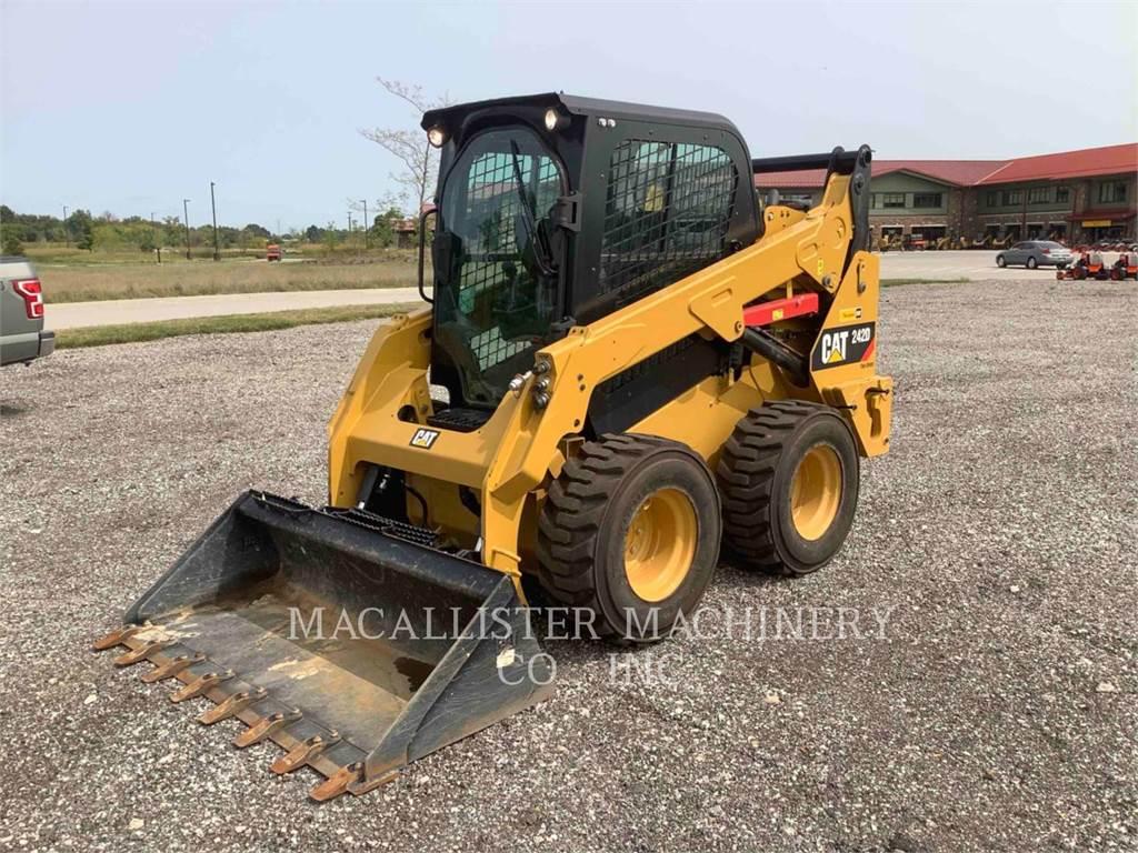 Caterpillar 242D, Kompaktlader, Bau-Und Bergbauausrüstung