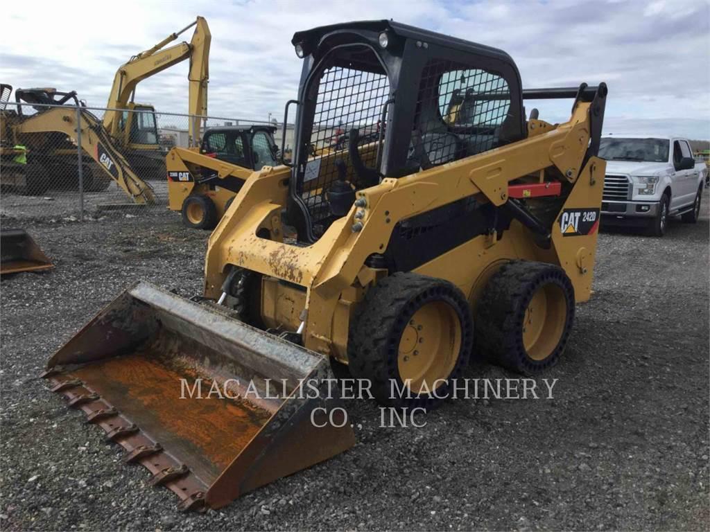 Caterpillar 242D, Chargeuse compacte, Équipement De Construction