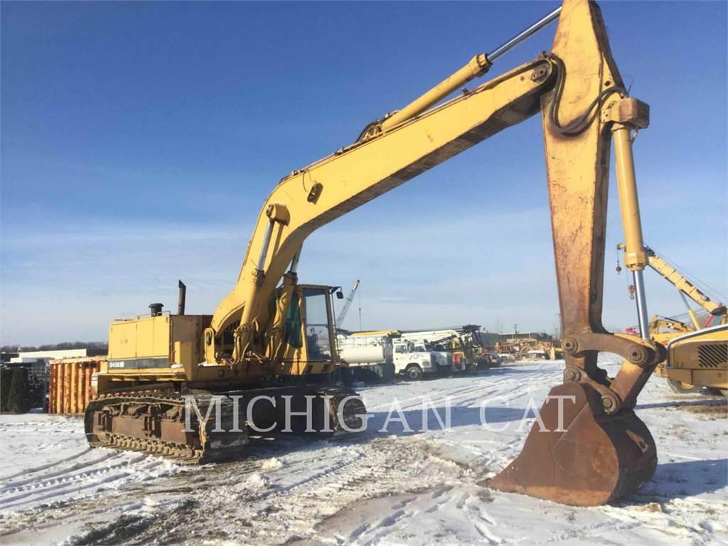 Caterpillar 245B, Raupenbagger, Bau-Und Bergbauausrüstung