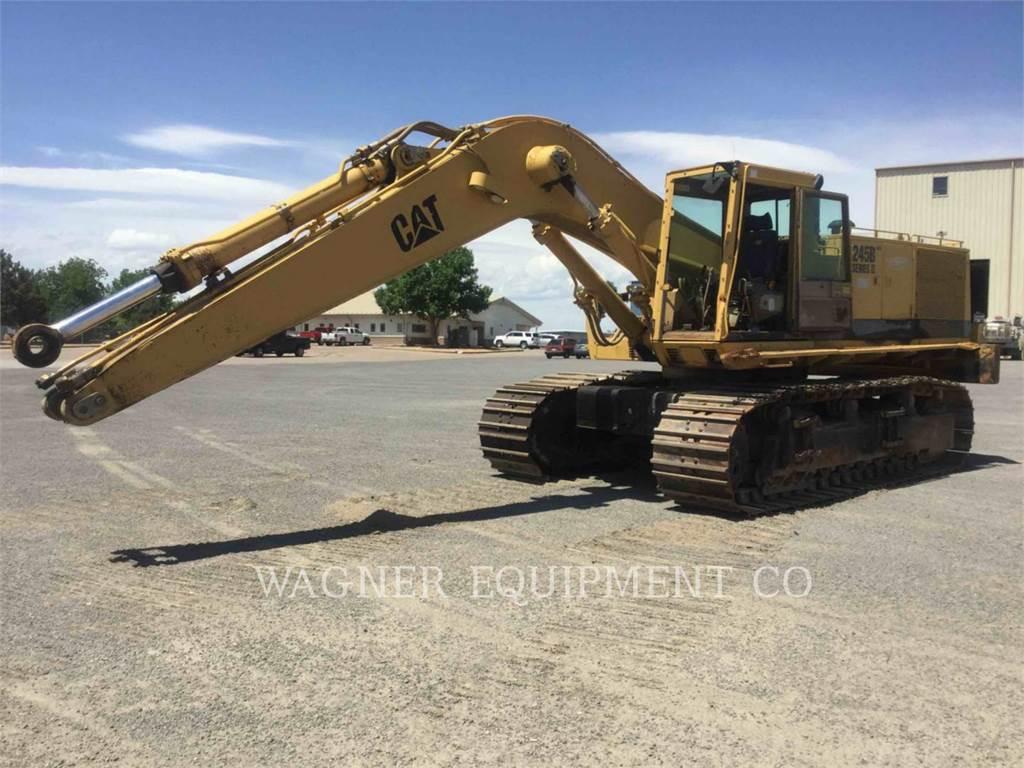 Caterpillar 245BII, Crawler Excavators, Construction