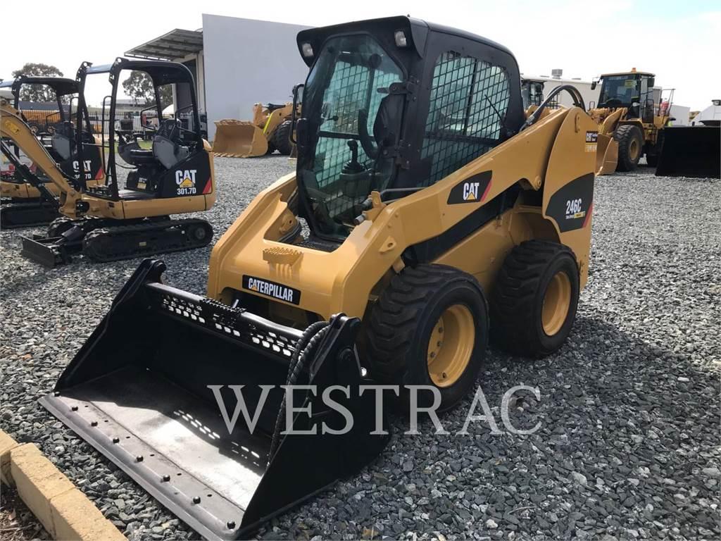 Caterpillar 246 C, Kompaktlader, Bau-Und Bergbauausrüstung