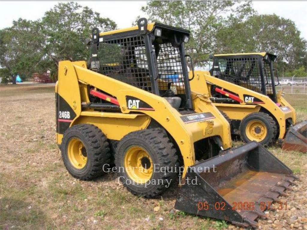 Caterpillar 246B, Kompaktlader, Bau-Und Bergbauausrüstung