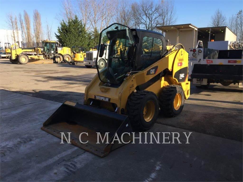 Caterpillar 246C, Skid Steer Loaders, Construction