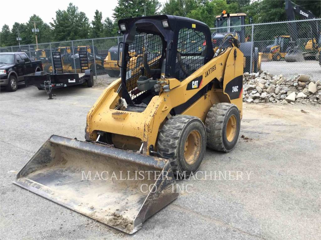 Caterpillar 246C, Mini incarcator, Constructii