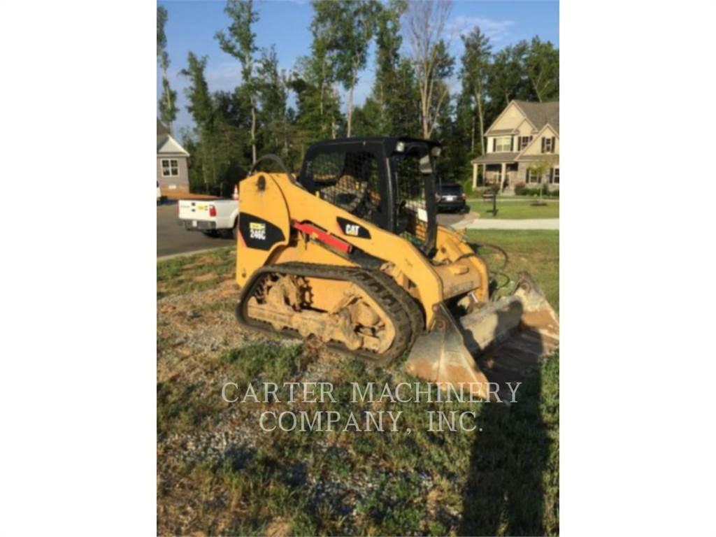 Caterpillar 246C CYV, Chargeuse compacte, Équipement De Construction