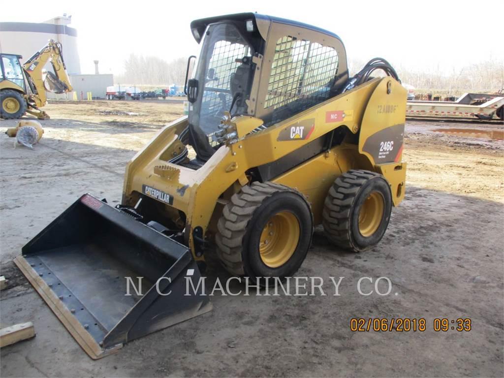 Caterpillar 246C S4CB, Chargeuse compacte, Équipement De Construction