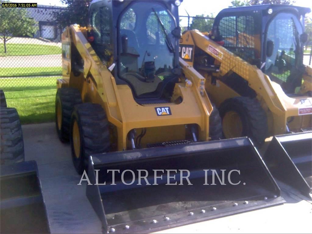 Caterpillar 246D, Minicargadoras, Construcción
