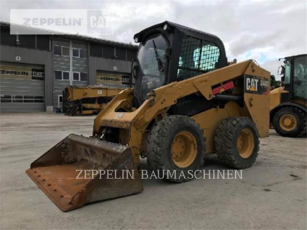 Caterpillar 246D, Mini ładowarki, Sprzęt budowlany