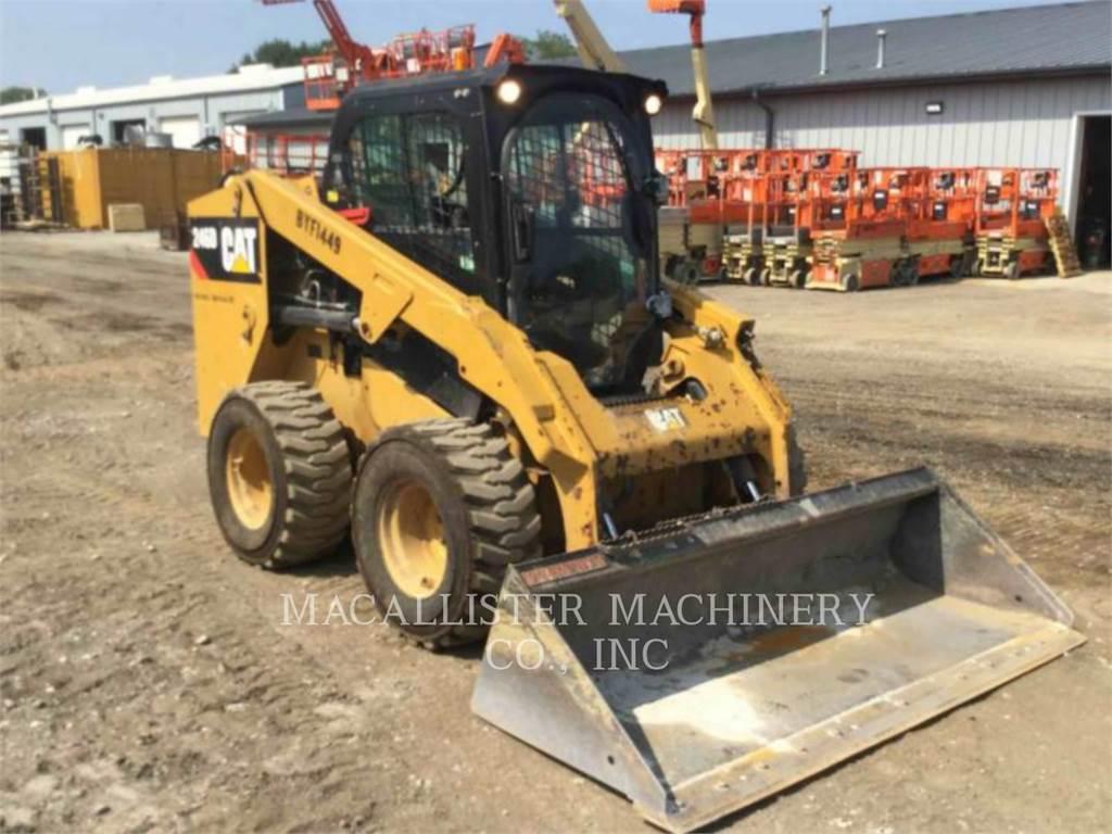 Caterpillar 246D, Chargeuse compacte, Équipement De Construction