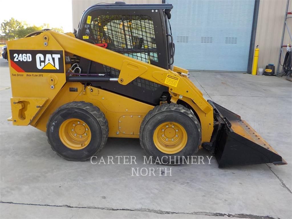 Caterpillar 246D, Mini incarcator, Constructii