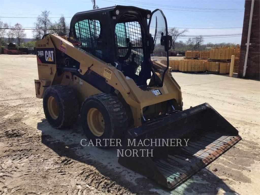 Caterpillar 246D ACHF, Carregadoras de direcção deslizante, Equipamentos Construção
