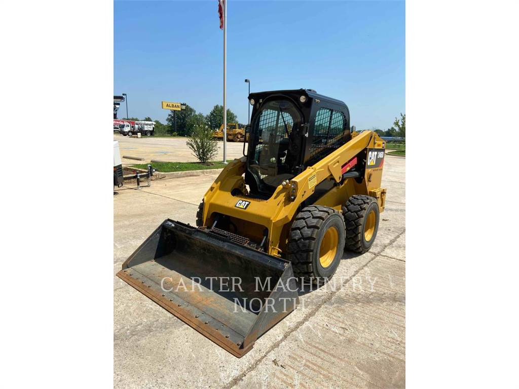 Caterpillar 246D ACHF2, Skid Steer Loaders, Construction