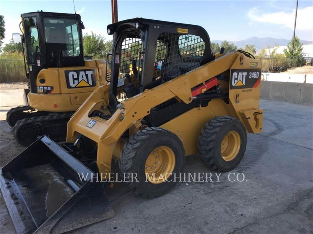 Caterpillar 246D C1 HF, Skid Steer Loaders, Construction