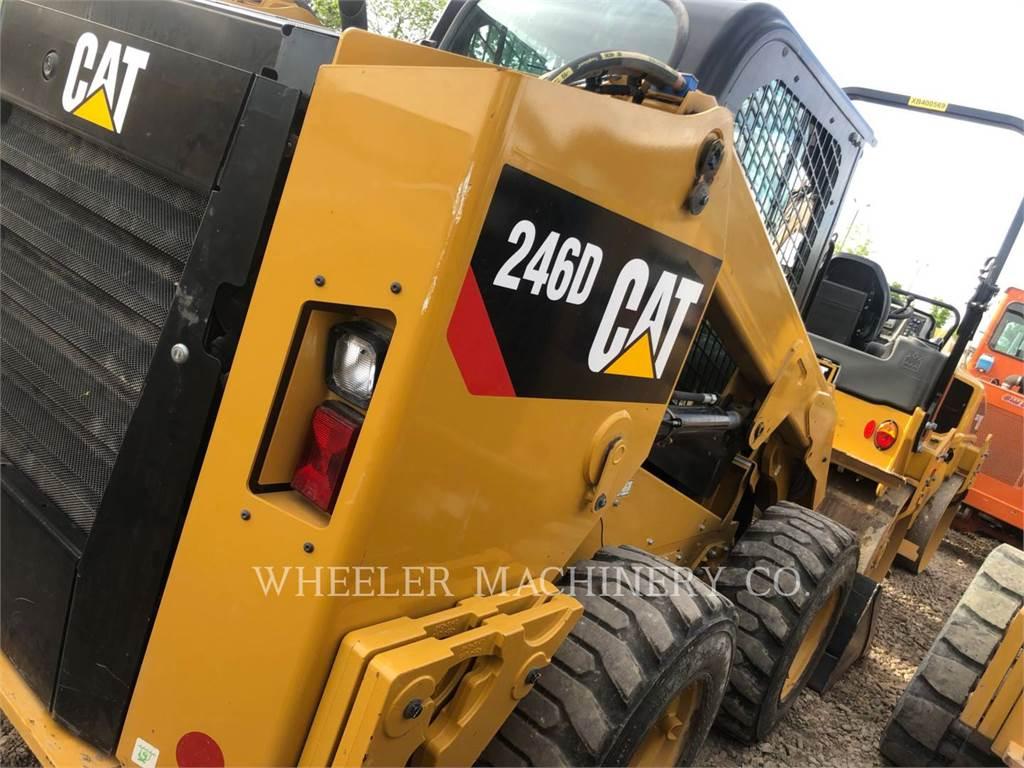 Caterpillar 246D C3-H2、スキッドステアローダー、建設