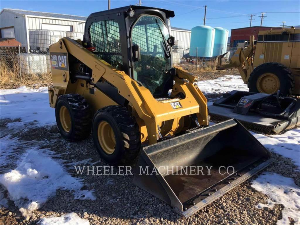 Caterpillar 246D C3-H4, Chargeuse compacte, Équipement De Construction