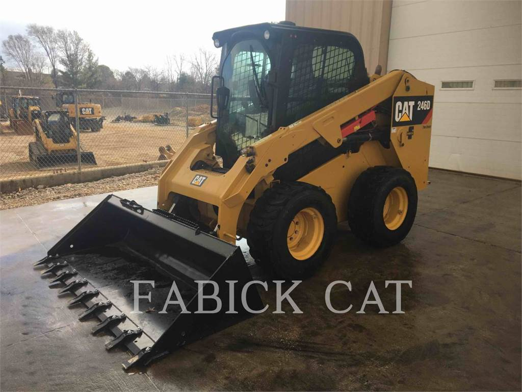 Caterpillar 246D C3H2, Skid Steer Loaders, Construction