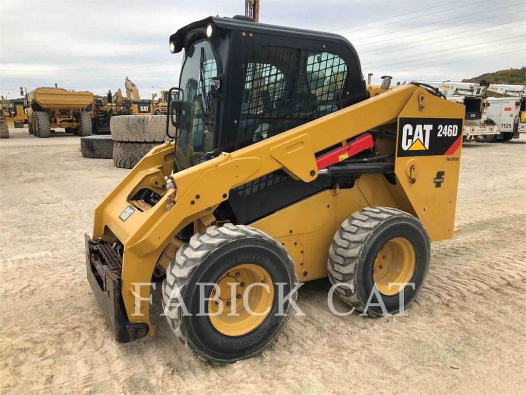 Caterpillar 246D C3H2, Skid Steer Loaders, Construction