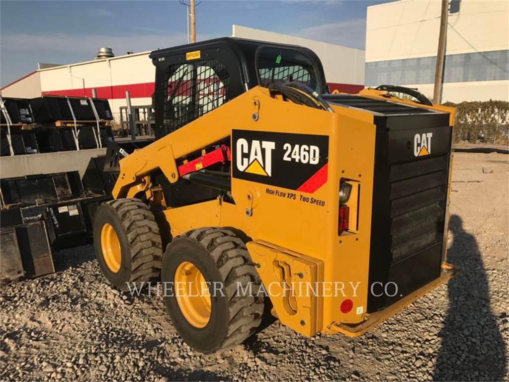 Caterpillar 246D C3HF2, Skid Steer Loaders, Construction