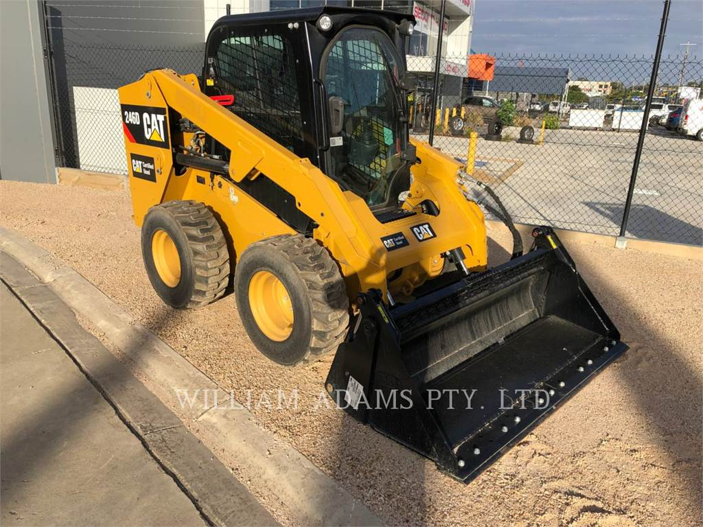 Caterpillar 246D, Kompaktlader, Bau-Und Bergbauausrüstung