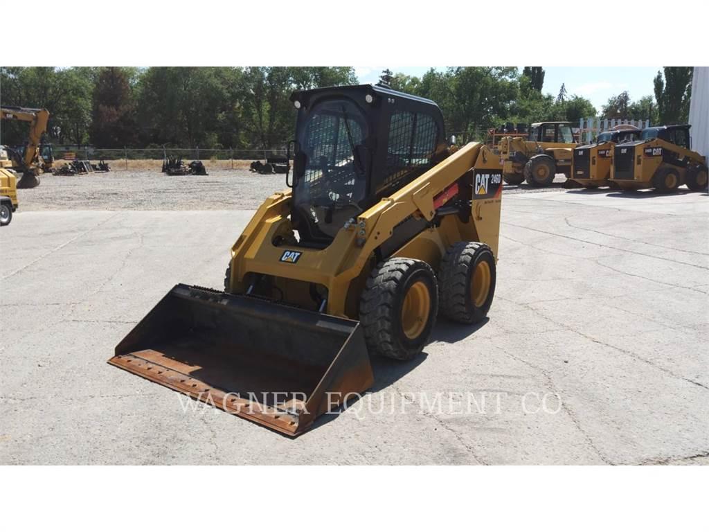 Caterpillar 246D HF, Carregadoras de direcção deslizante, Equipamentos Construção