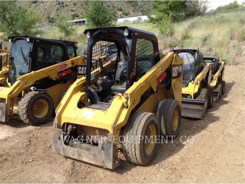 Caterpillar 246D HF, Skid Steer Loaders, Construction
