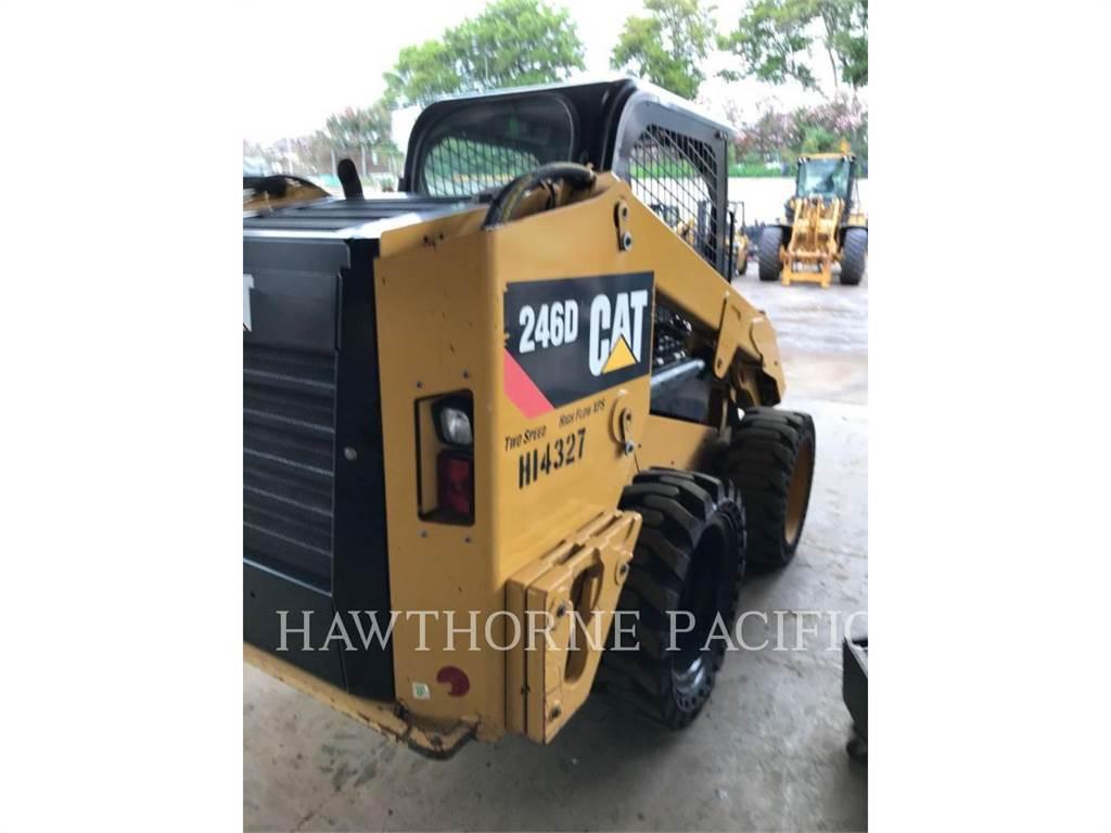 Caterpillar 246D HF, Kompaktlader, Bau-Und Bergbauausrüstung