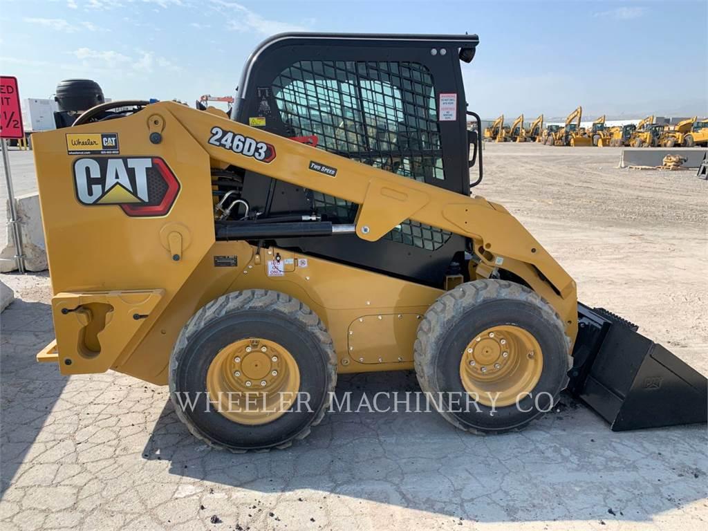 Caterpillar 246D3 C3H2, Skid Steer Loaders, Construction