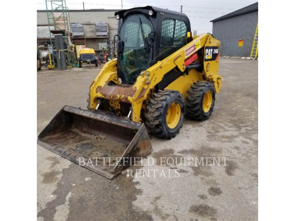 Caterpillar 246DLRC, Skid Steer Loaders, Construction