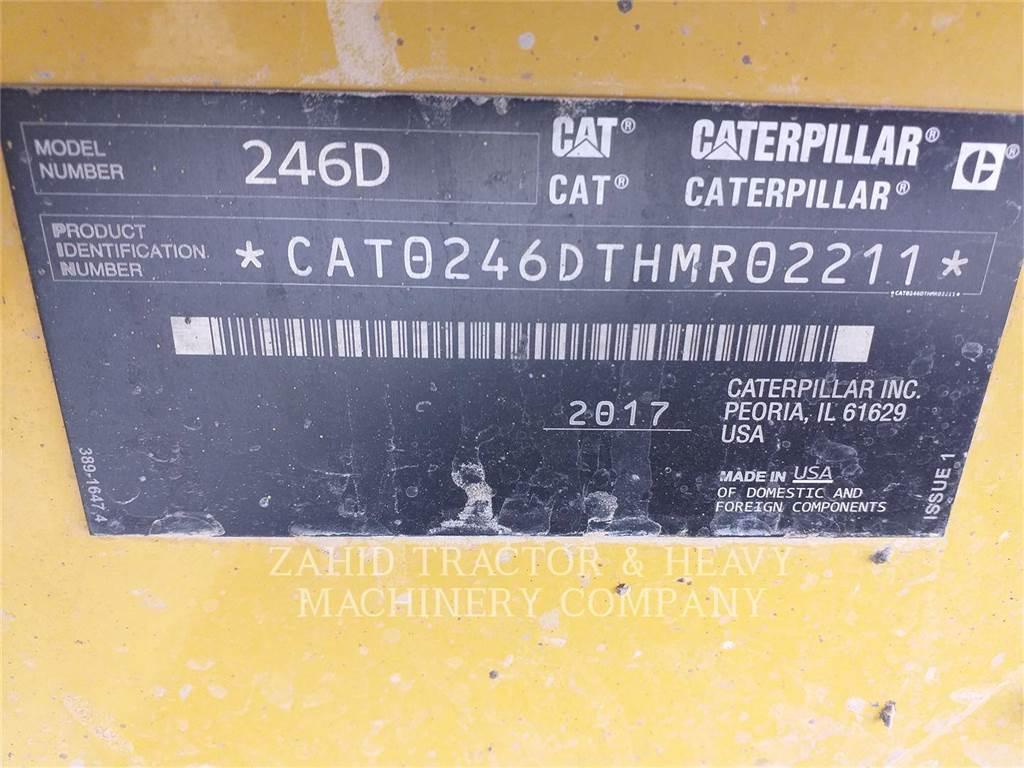 Caterpillar 246DLRC, Mini Pale Gommate, Attrezzature Da Costruzione