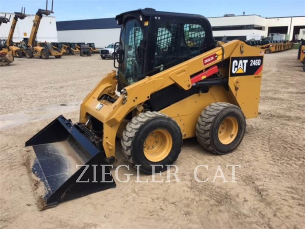 Caterpillar 246DSR, Skid Steer Loaders, Construction