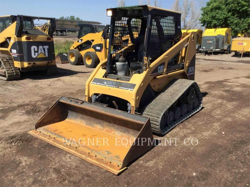 Caterpillar 247B, Chargeuse compacte, Équipement De Construction