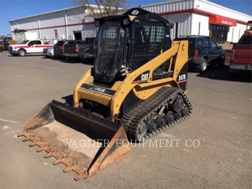 Caterpillar 247B, Carregadoras de direcção deslizante, Equipamentos Construção