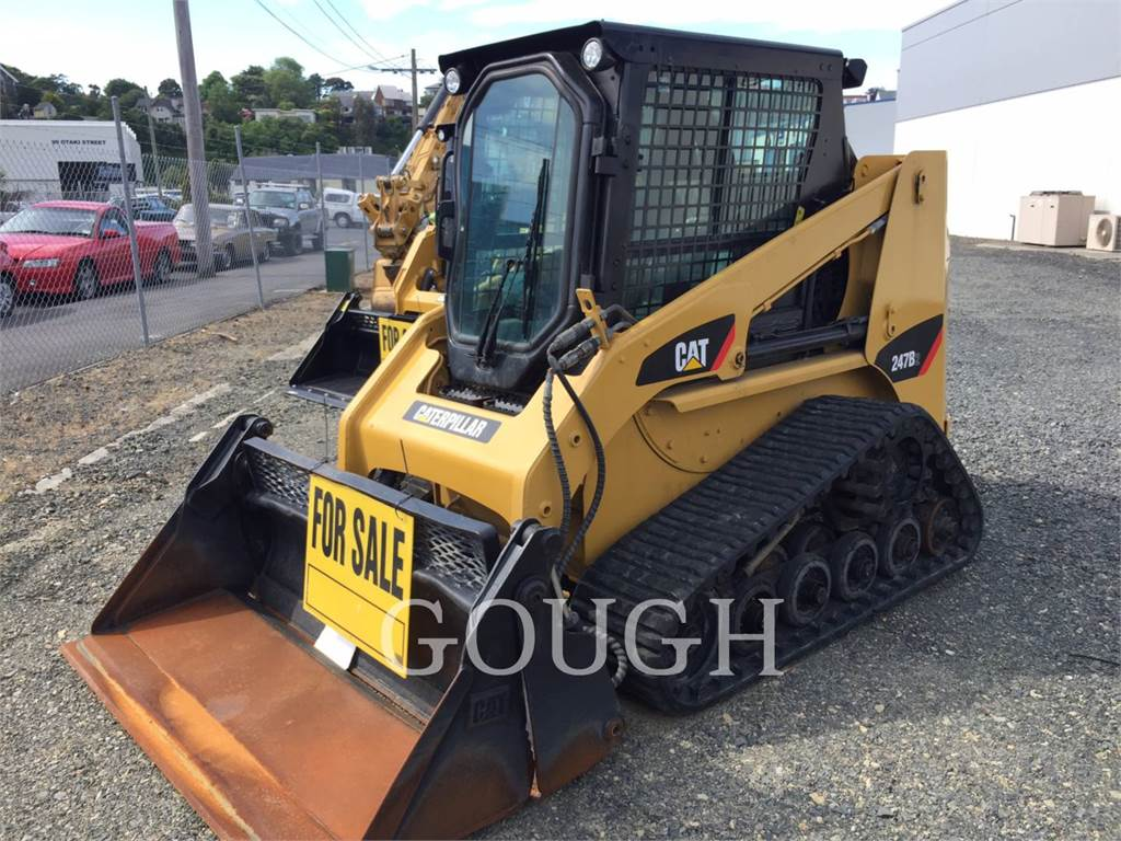 Caterpillar 247B2, Skid Steer Loaders, Construction