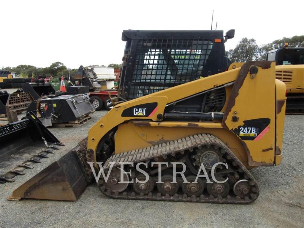 Caterpillar 247B2, Kompaktlader, Bau-Und Bergbauausrüstung