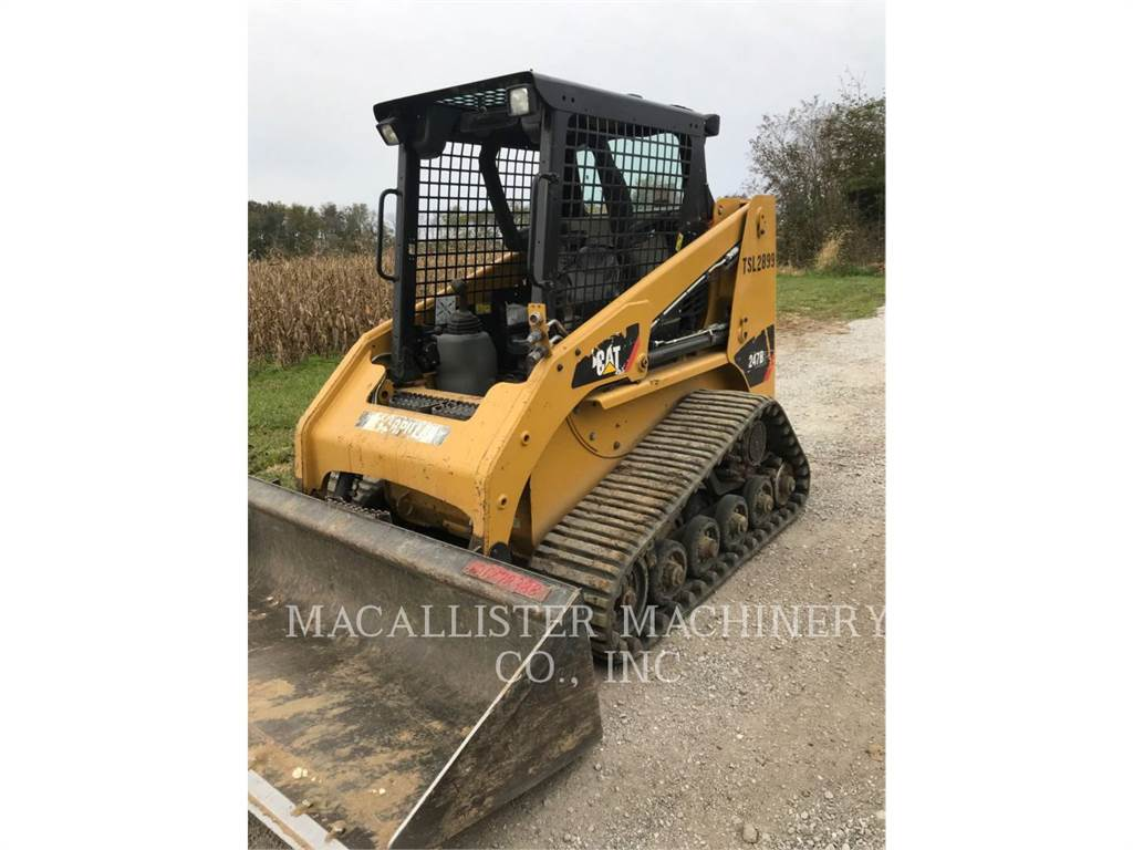 Caterpillar 247B3、スキッドステアローダー、建設