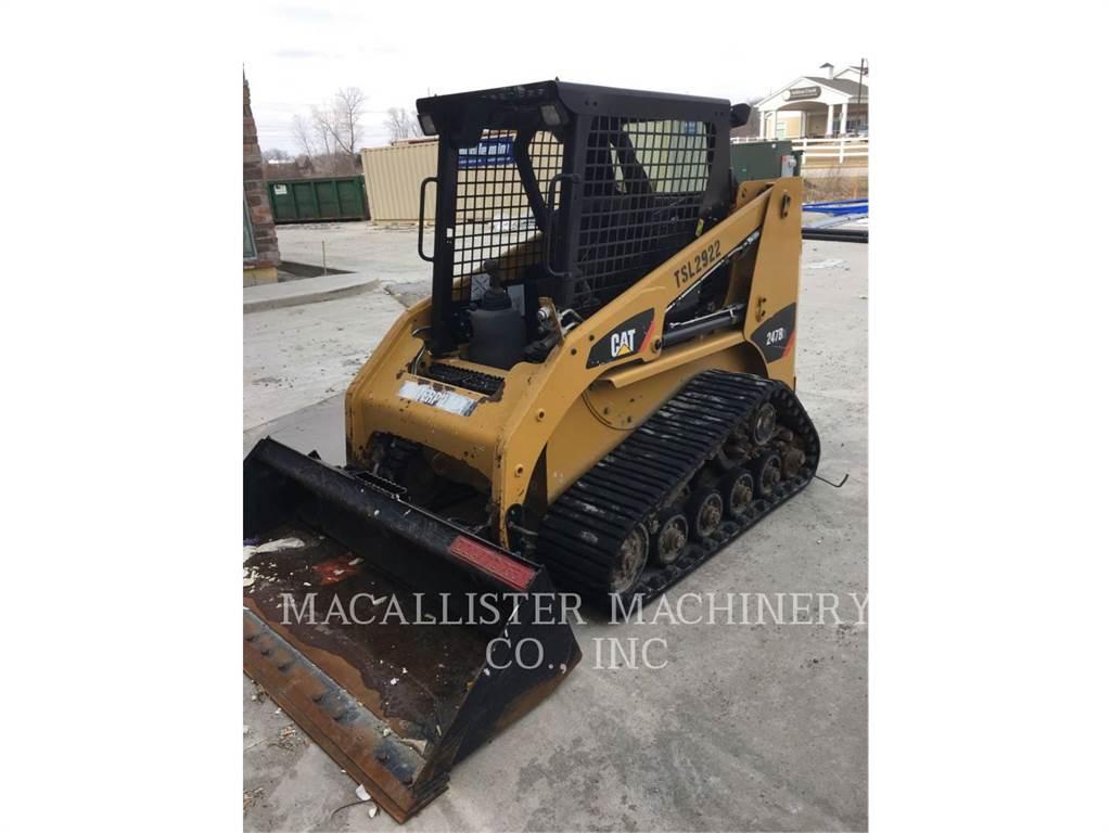 Caterpillar 247B3, Kompaktlader, Bau-Und Bergbauausrüstung