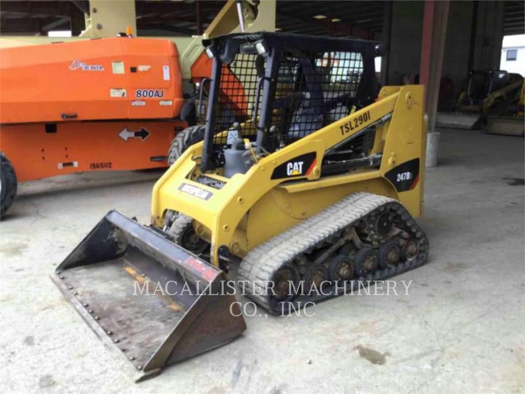 Caterpillar 247B3, Chargeuse compacte, Équipement De Construction
