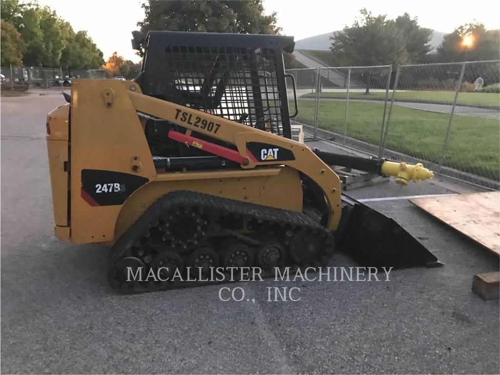 Caterpillar 247B3, Mini ładowarki, Sprzęt budowlany