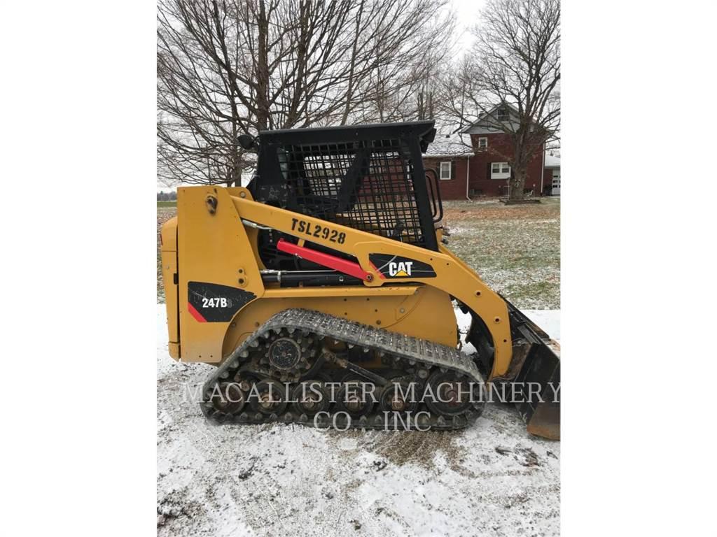 Caterpillar 247B3, Skid Steer Loaders, Construction
