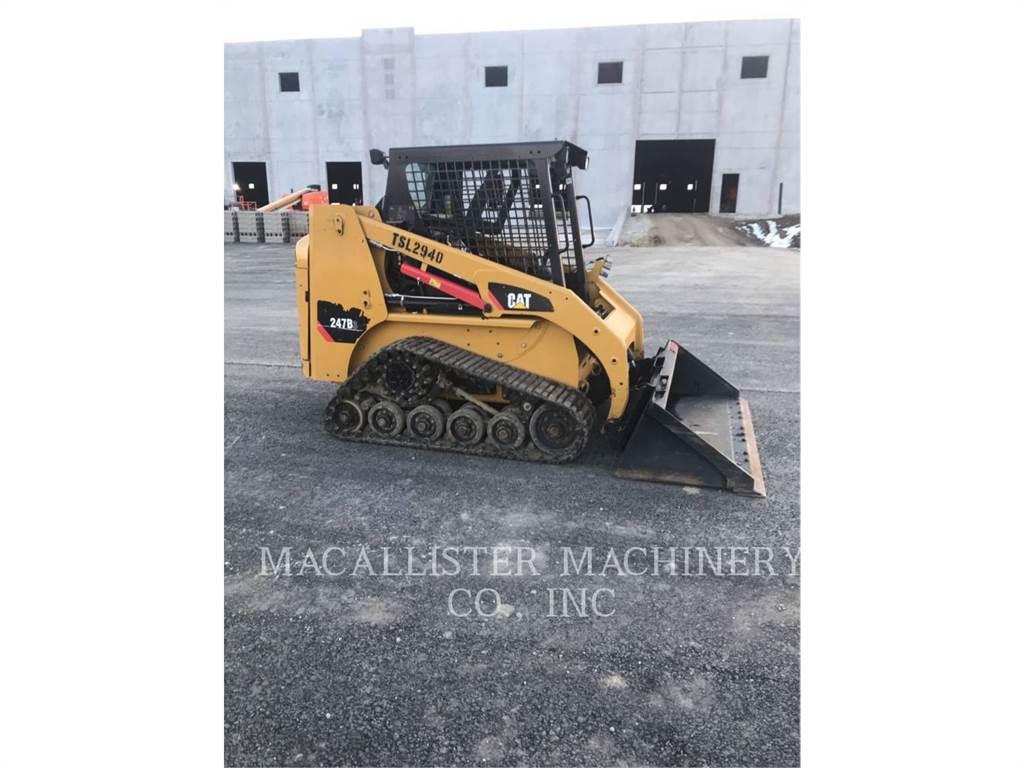 Caterpillar 247B3, Minicargadoras, Construcción