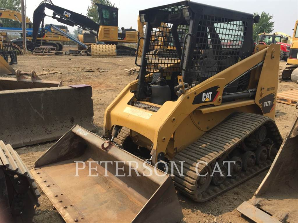 Caterpillar 247B3 HRC, Skid Steer Loaders, Construction