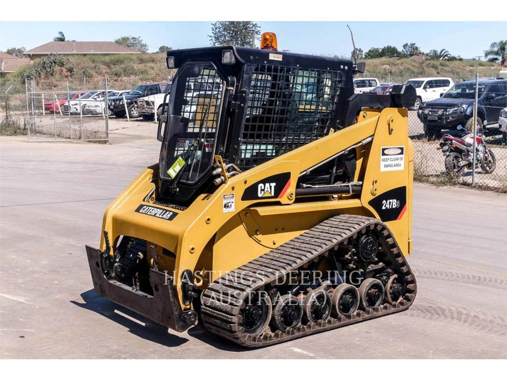 Caterpillar 247B3LRC, Kompaktlader, Bau-Und Bergbauausrüstung