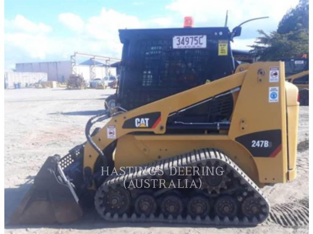 Caterpillar 247B3LRC, Skid Steer Loaders, Construction