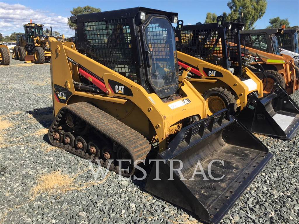 Caterpillar 247B3LRC, Skid Steer Loaders, Construction
