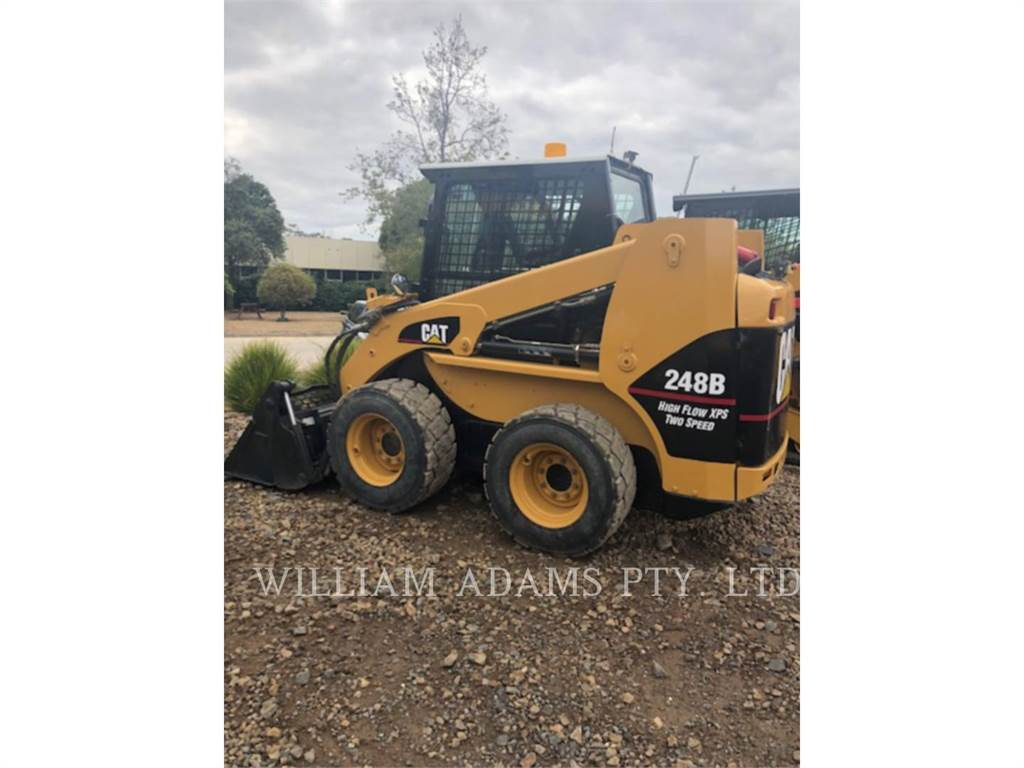 Caterpillar 248B, Skid Steer Loaders, Construction