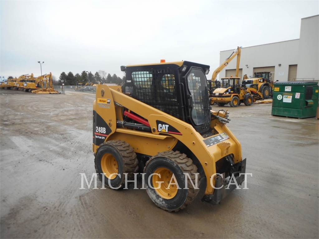Caterpillar 248B A, Skid Steer Loaders, Construction