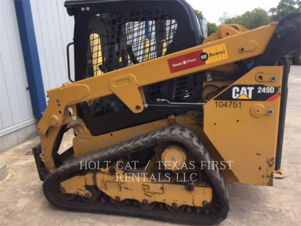 Caterpillar 249 D, Kompaktlader, Bau-Und Bergbauausrüstung